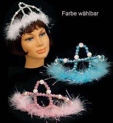osa/blau Prinzessin Krönchen Königin Kostüm Zubehör 126300013 (Rosa Königin Krone)