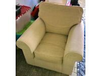 Armchair in Beige