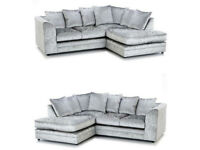 QUALITY SOFAS FROM £450 VELVET CORNER SOFA / SOFA SETS / FAUX LEATHER / FABRIC *FAST FREE DELIVERY*