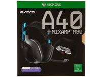 Astro Gaming HALO 5 A40 Headset with MixAmp M80