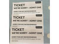 IMAX Cinema Tickets x3