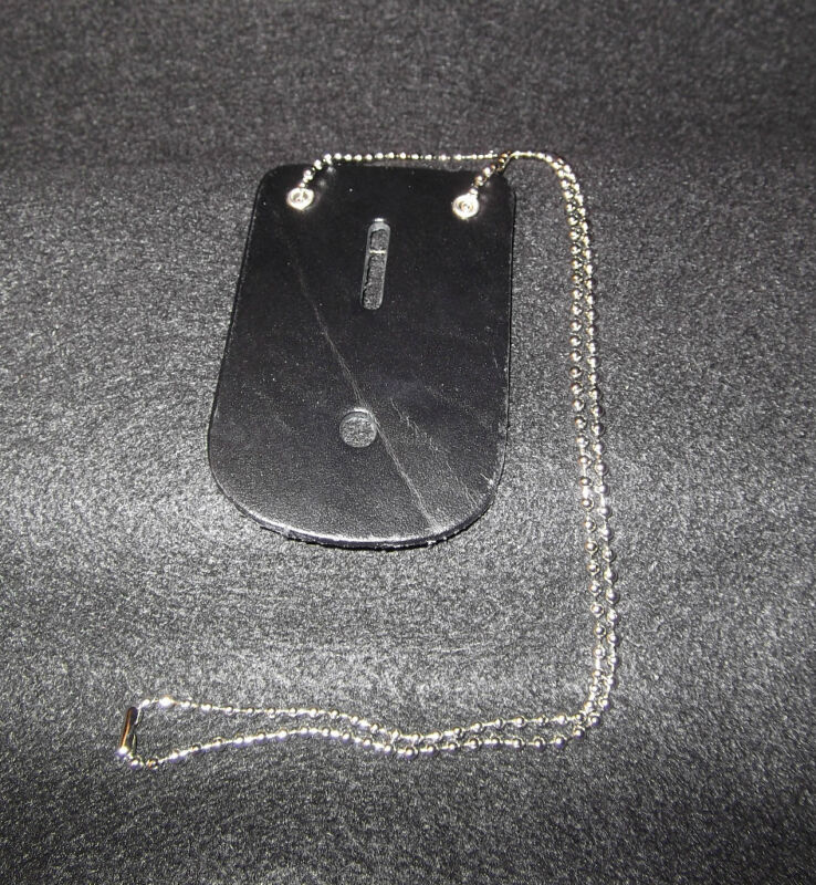 NECK CHAIN BADGE HOLDER Fits almost any badge Universal size with neck chain