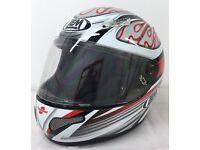 Special Offer New LEM Tornado Carbon Fiber Composite Motorcycle Helmet Was £69.99