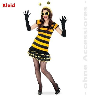 KarnevalsTeufel Buzzy Bee 2. Wahl Biene Kleid Fasching Karneval (Buzzy Bee Kostüm)