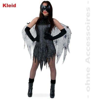 ostüm Black Vamp Spinnen Kleid Batwoman Gr. 38 NEU  (Batwoman Halloween-kostüme)
