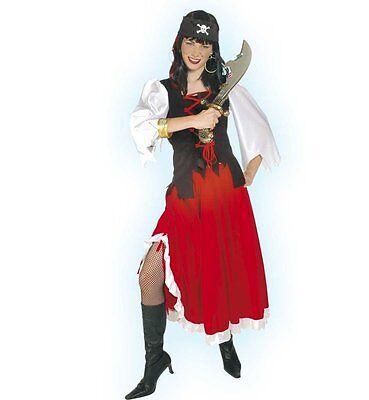 Fasching Karneval  Piratenlady Piraten Kostüm  Piratin - Piraten Lady Kostüme