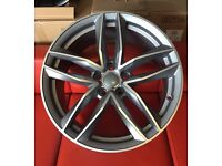 """4BOXED+NEW 19"""" ALLOYS WHEELS AUDI RS6 RS3 RS4 RS5 RS7 S LINE S3 S4 S5 S6 S7 S8 STYLE"""