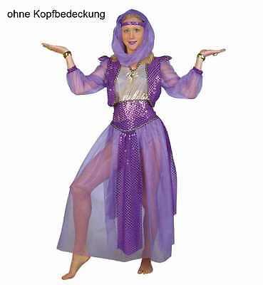 Haremstänzerin lila 2. Wahl ohne Stirnband Kostüm Bauchtänzerin - Lila Bauchtänzerin Kostüme