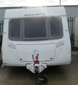 SWIFT CHALLENGER 540 2010 *FIXED BED* 4 BERTH CARAVAN