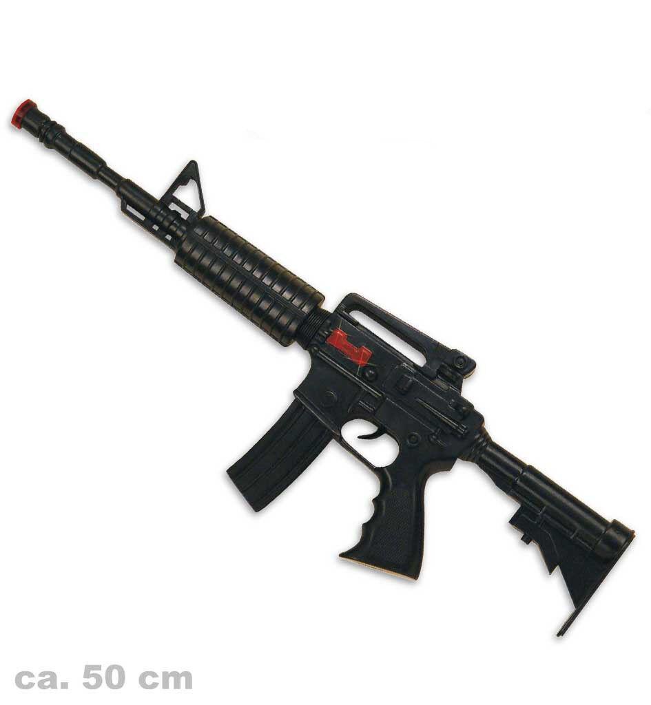 Spielzeug-Maschinengewehr mit Licht und Sound, FBI, CIA, Polizei 125905913F