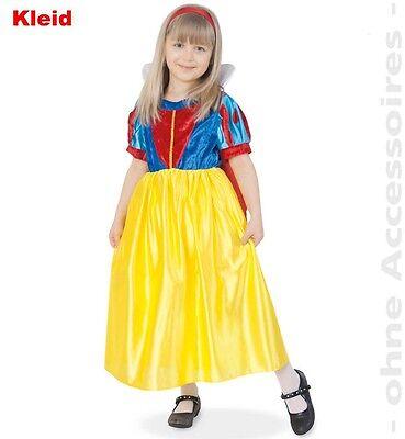 Schneewittchen Kostüm 104-140 Snow White Märchen Prinzessin Fasching (Snow White Prinzessin Kostüm)