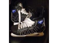 C-Series Mega SR Black Ice Hockey Skates