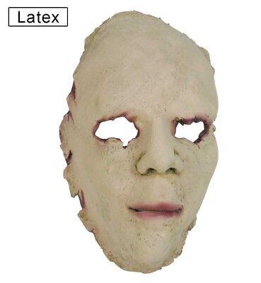 Fasching Latexmaske Haut Halloween Horror Maske 1 Stück (Haut Maske Halloween)