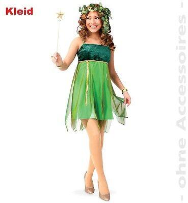 Fee Lauriel Kostüm 34-42 grünes Feenkleid Elfe Karneval Fasching (Fee Elfen Kostüm)