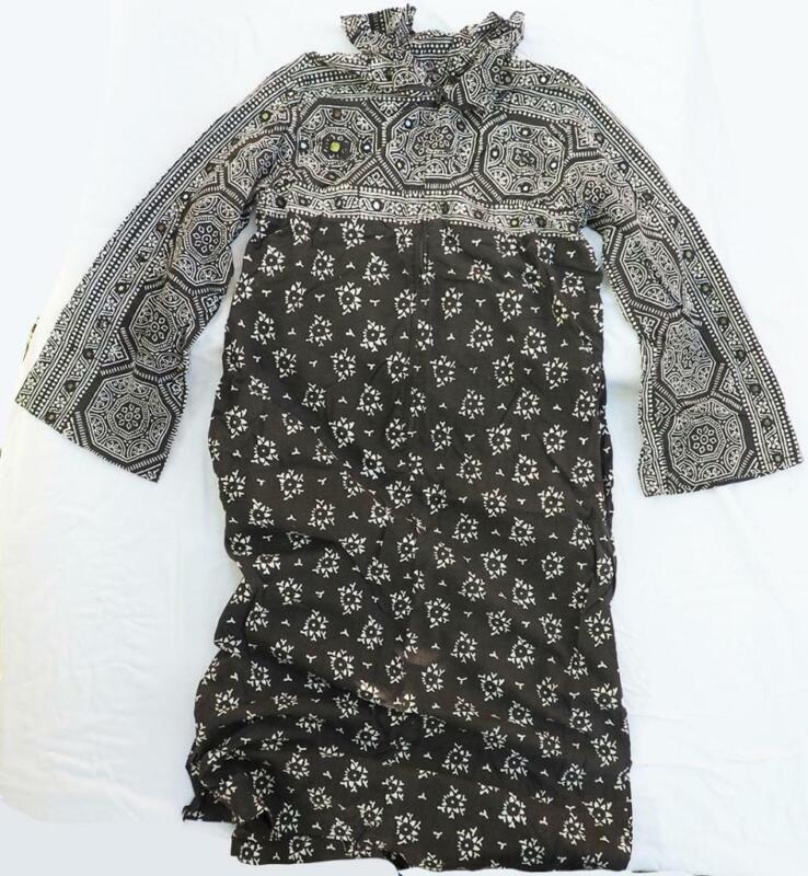 Vintage Boho Hippie Dress