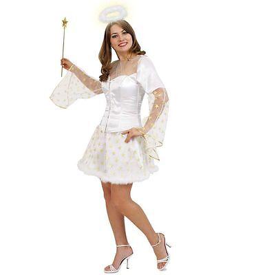 KarnevalsTeufel Rock Raffaela Engel Kostüm Basic Hochzeit Weihnachten - Basic Engel Kostüm