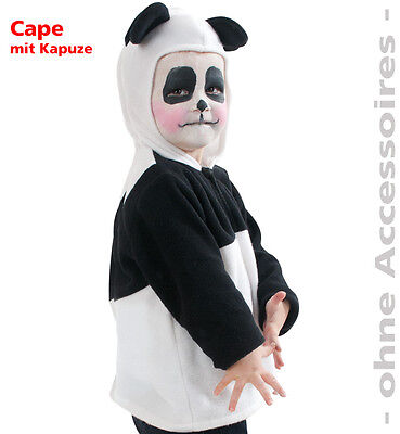 KarnevalsTeufel Panda Kostüm Kleinkinderkostüm Pandabär Bär Fasching  - Weibliche Panda Kostüm
