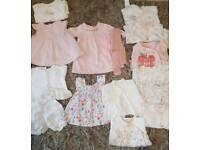 Baby Girl Clothes Bundle- up to 1 month