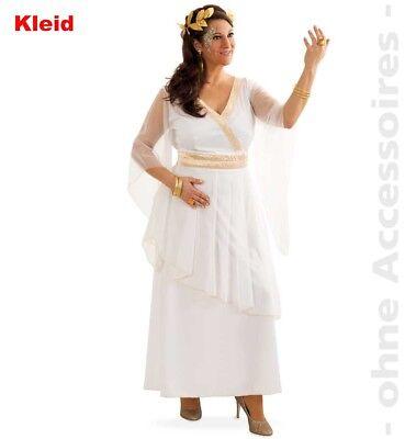 48 XL Römerin Kleid weiß Engel Göttin Hera Elsa 1210454G13 (Engel Göttin Kostüm)