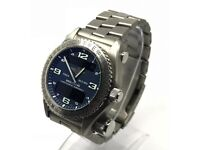 BREITLING EMERGENCY SUPERQUARTZ E76321 GENTS TITANIUM WATCH COMPLETE KIT