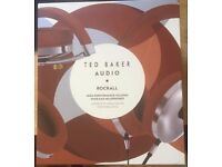 Ted Baker Audio . Rockall . High Performance Folding Over-Ear Headphones