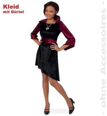 issi Vamp Kleid mit Gürtel Größe 140 NEU  (Halloween Vamp)