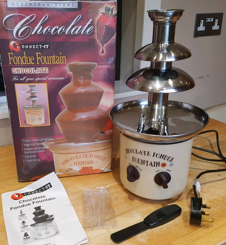 Connect it Foundue Chocolate Fountain