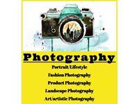 Photography: Portrait, Lifestyle, Fashion, Landscape, Product&more