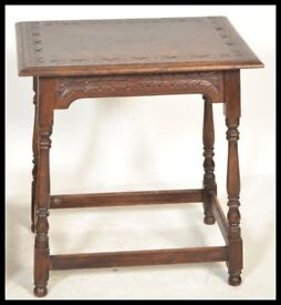 OAK OCCASIONAL TABLE. SUITABLE FOR ANY ROOM.