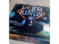 Lord Of The Rings board game (Hasbro) - fantastic condition