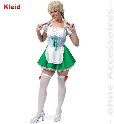 Mini Dirndl grün Kleid Oktoberfest Damen Outfit Wiesn sexy Dirndl 1211683G13