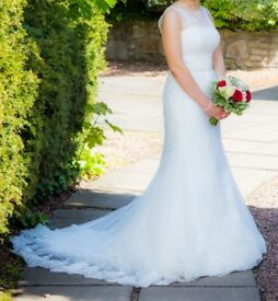Wedding Dress, Ivory, Size 10