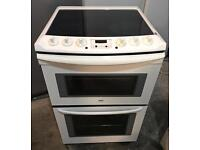 WHITE ZANUSSI 60CM ELECTRIC COOKER EXCELLENT CONDITION, 4 MONTH WARRANTY