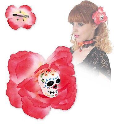 Haarclip Sugar Skull Punk Gothic Halloween Haarschmuck Tag der Toten 125172213 (Sugar Skull Halloween Haar)