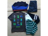 Boys Clothes Bundle - Trousers, Jumper and Tops, M&S. Age 11-12