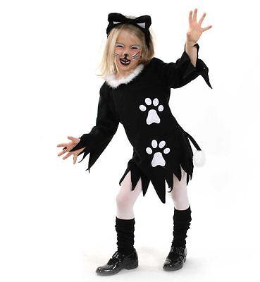 Kätzchen Kostüm Gr. 116-164 Katze Katzenkleid Tierkostüm Fasching 1210004G13