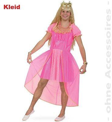 Prinzessinnenkostüm für Männer Gr. M Prinzessin Karneval Fasching 1210876G13