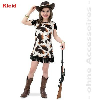KarnevalsTeufel Cowgirl Sally 128-152 Square Line Dance Western Kleid - Square Dance Kleid Kostüm