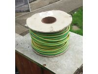 16mm GREEN & YELLOW CABLE