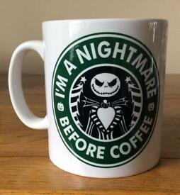 I'm a Nightmare Before Coffee Mug
