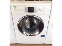 BEKO - White & Chrome, 8KG, A+, 1200, Excellence WASHER + 3 Months Guarantee + FREE LOCAL DELIVERY