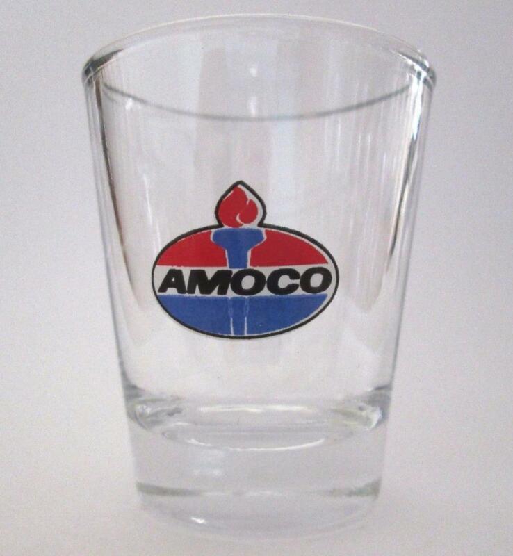 Very Nice Amoco Gasoline  1  1/2 oz. Shot Glass