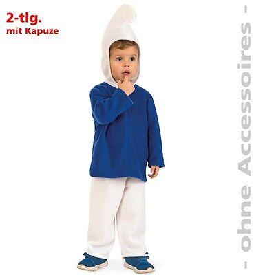 KarnevalsTeufel Blauer Zwerg Kleinkinderkostüm Fasching Karneval 12200413