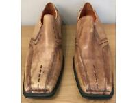 Men's pair of smart Tan shoes for sale size 10