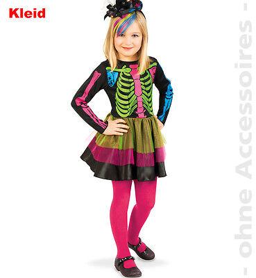 Little Catrina Halloween Kostüm Fasching Mexikanischer Totentag 1210138G13