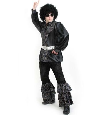 Ben Disco Kostüm M-XXL 70er 80er Jahre Mottoparty Karneval Fasching - 80er Jahre Motto Party Kostüm