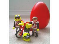 Playmobile Motocross Egg bank