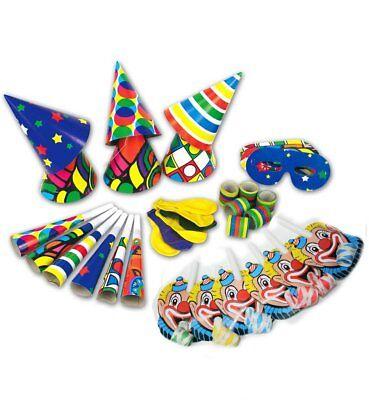 Party-Tüte-Karneval 36-tlg. Clown Party Dekoration Hüte Party-Spaß  - Clown Hüte