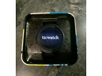 Ticwatch E Android Wear 2.0 Smartwatch black