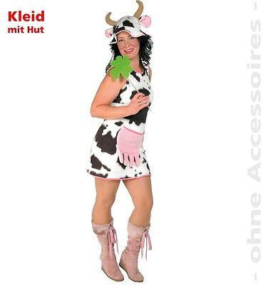 Kuh Elsa Kostüm 36-42 Kuhkostüm Kleid Oktoberfest Karneval - G Fest Kostüme